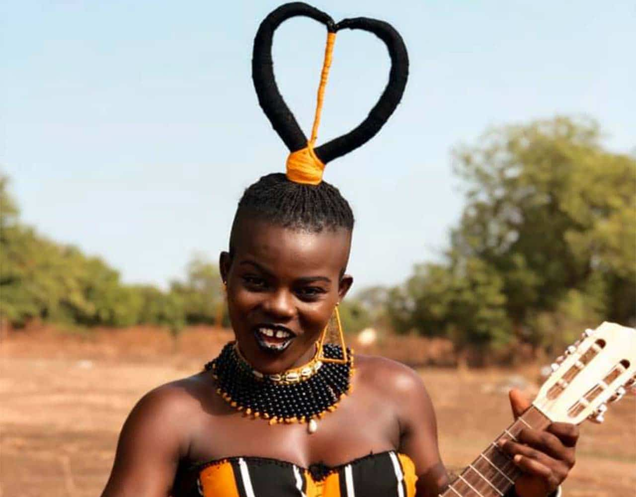 Wiyaala has called herself a villager